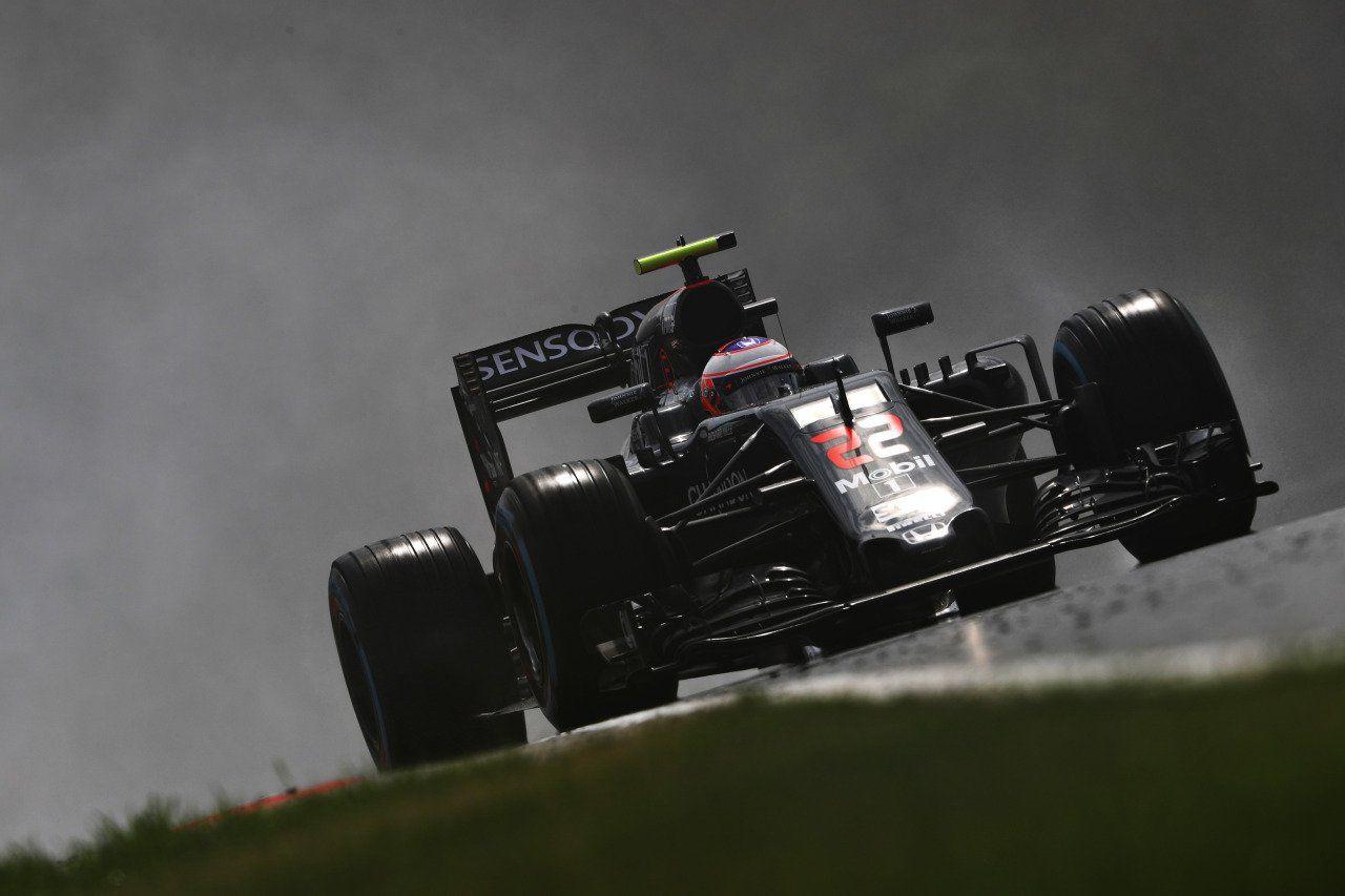 Jason Button . Hungaroring . 2016