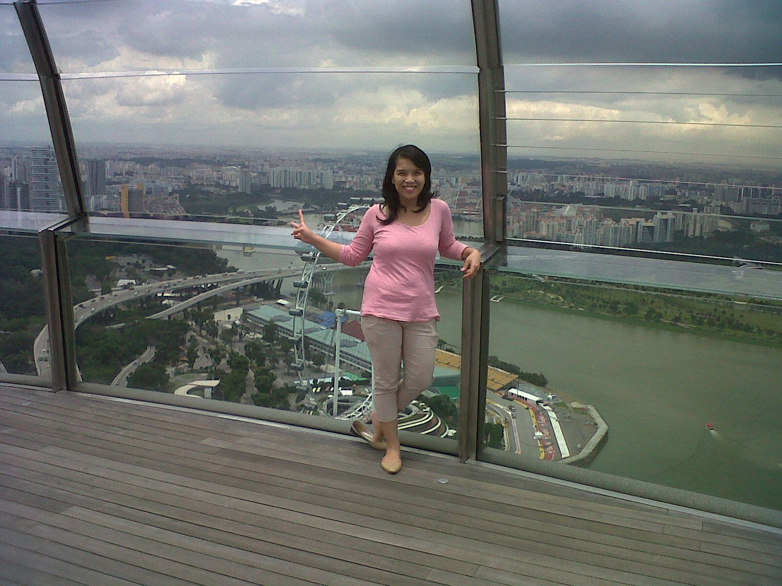 Top of Marina Bay Sands, Singapore