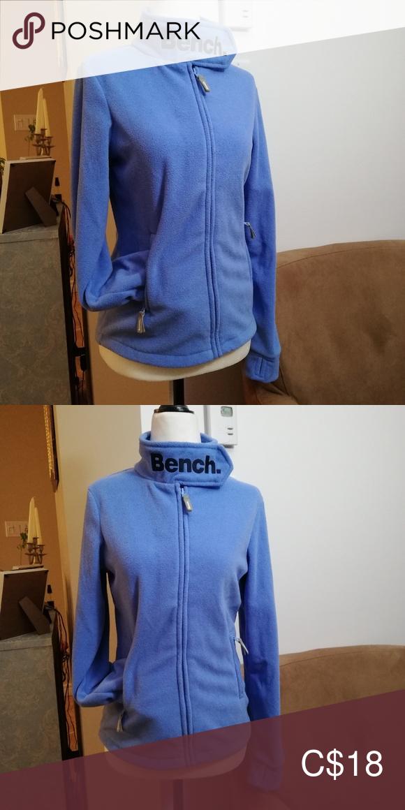 Bench Fleece Jacket Size 13 14 Xsmall Blue Fleece Jacket Jackets Bench Jackets