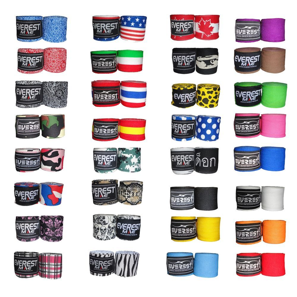 Everest mae boxing hand wraps 180 mexican boxing bandages