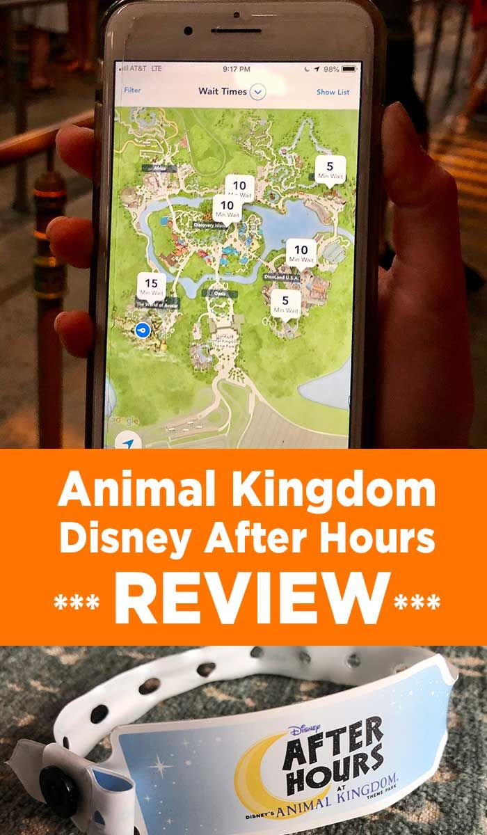 Disney After Hours at Animal Kingdom (REVIEW) #animalkingdom