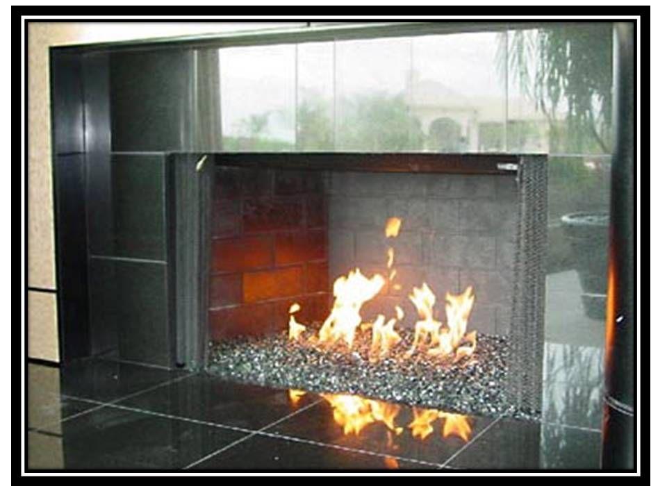 Glass Rock Fireplace