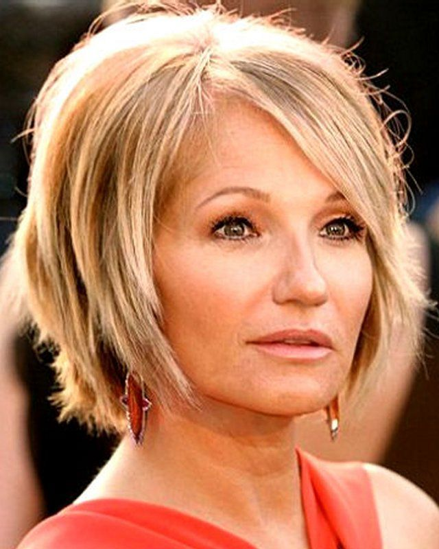 Sexy Short Hairstyles Cool 25 Celebrity Hairstyles For Women Over 40  Choppy Layers Medium