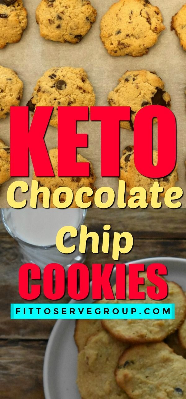 Chocolate Chip Cookies It's a recipe for Keto Chocolate Chip Cookies and they are the perfect keto treat. The flavor and texture of these low carb chocolate chip cookies can fool your taste buds into thinking you are having a high carb option.It's