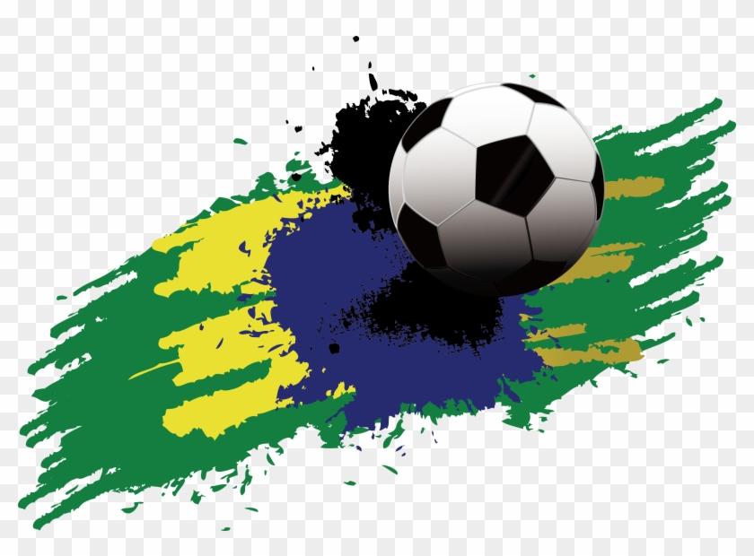 Fifa World Cup Football Player Clip Art Brazil Colors Soccer In 2020 Fifa World Cup World Cup Brazil Colors