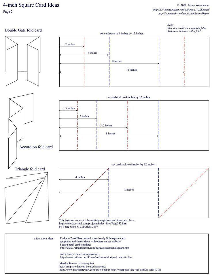 accordion fold template