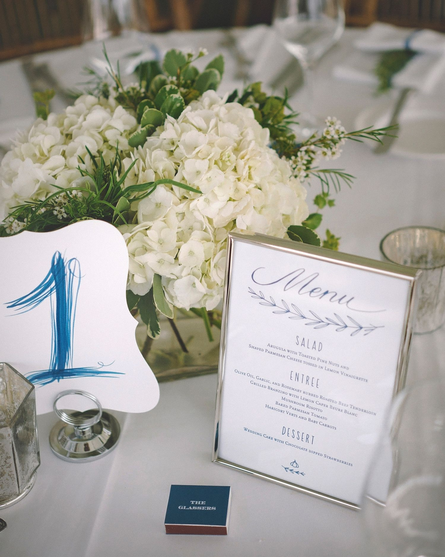 79 White Wedding Centerpieces | Round tables, Wax flowers and Greenery