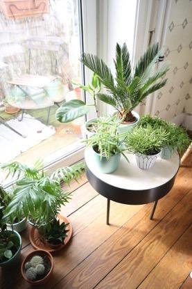 einrichtungs-detail für wohnzimmer oder küche: kleiner runder ... - Tisch Für Wohnzimmer
