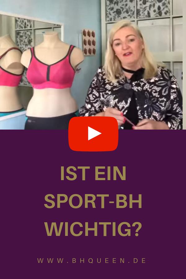 Pin auf Wie wichtig ist ein Sport BH?