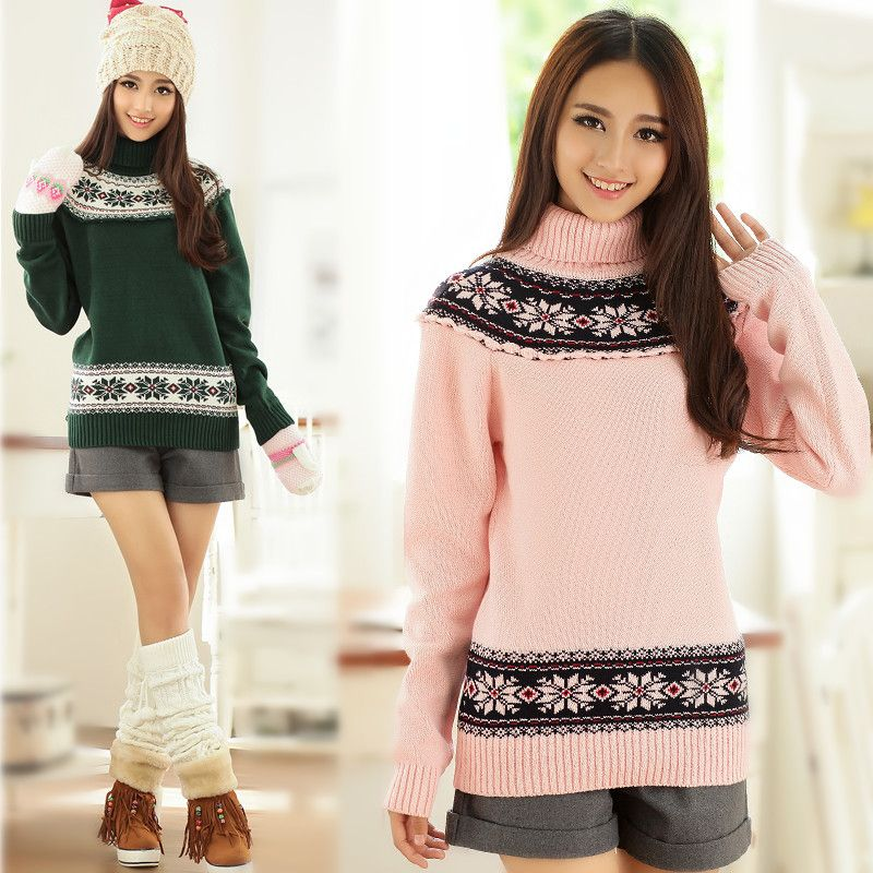 2015 Fall&Winter New High Quality Japanese sweater girls women ...