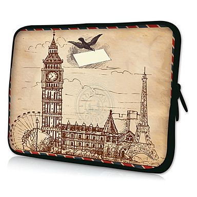 """HUADO® 15"""" Castle Laptop Sleeve Case for MacBook Air Pro/HP/DELL/Sony/Toshiba/Asus/Acer – EUR € 11.87"""