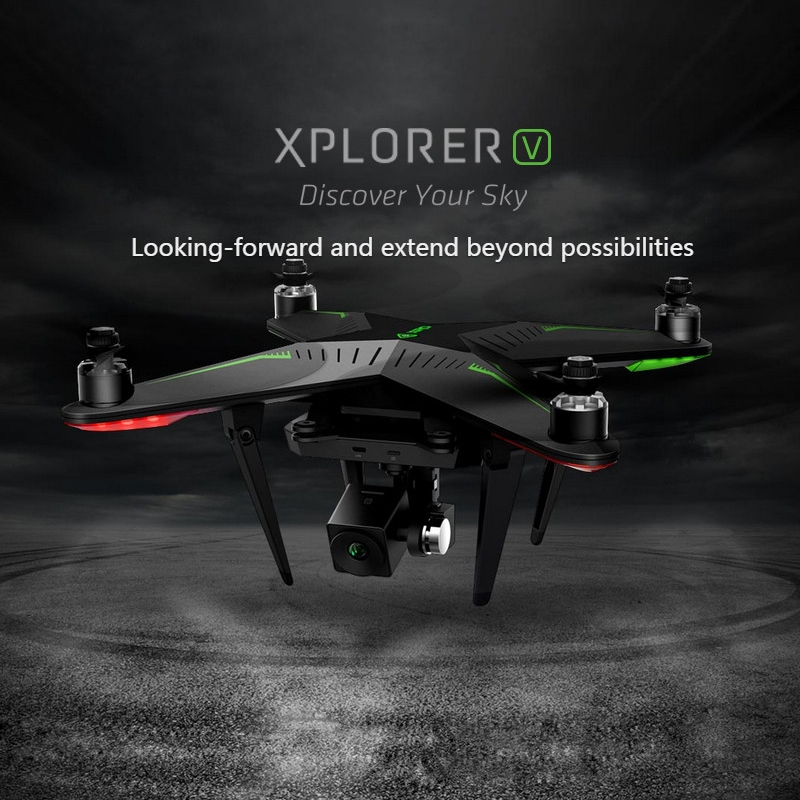 535.99$  Watch now - http://alilm5.shopchina.info/go.php?t=32495256058 - XIRO Zero Xplorer V Professional Helicopter FPV 5.8G 4-Axis RC Quadcopter Drone with 1080P Camera 5200mA Battery freeshipping  #aliexpresschina