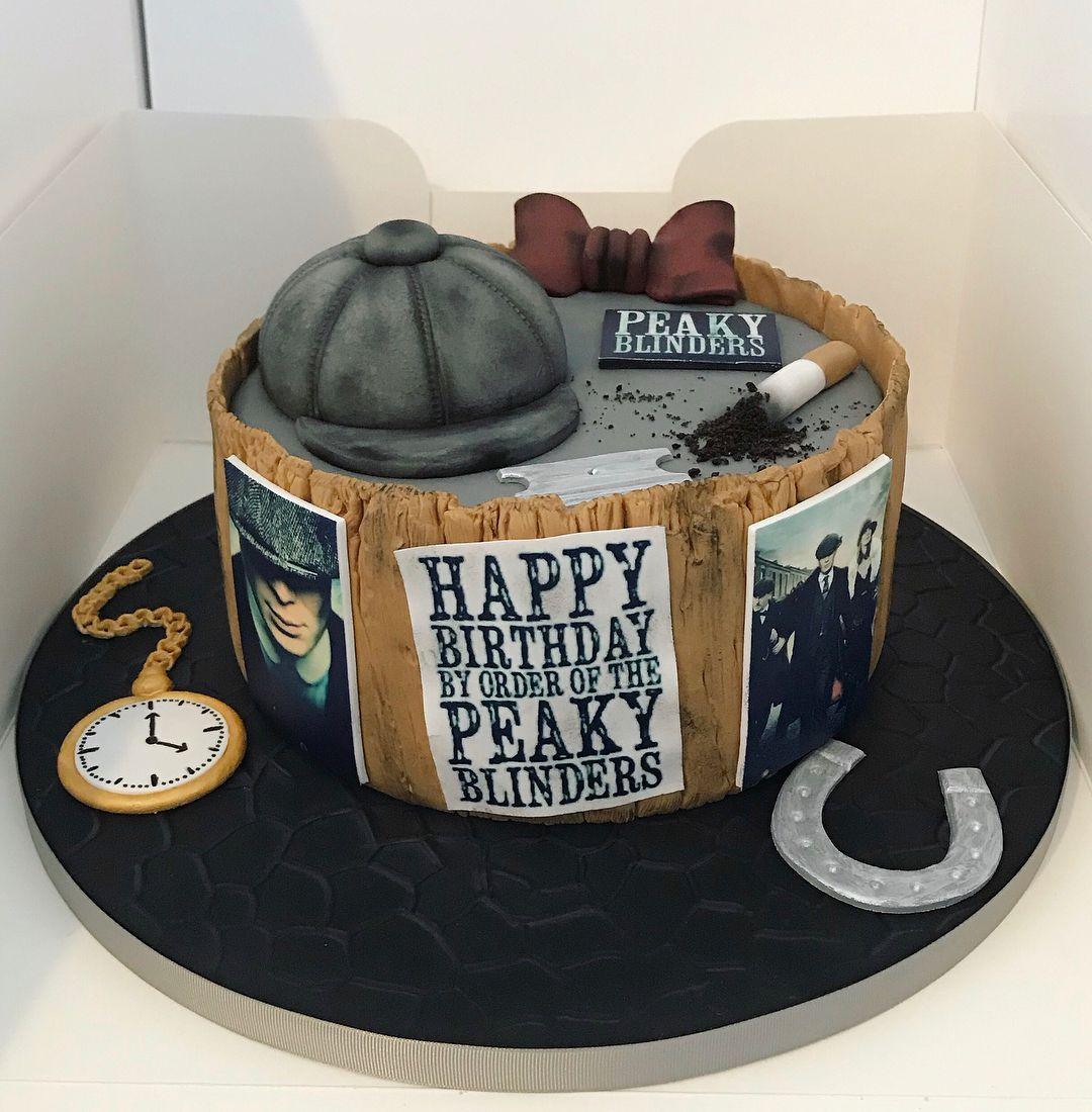 Peaky Blinder Cake Peaky Blinders Fab Cakes Birthday Cakes For Men