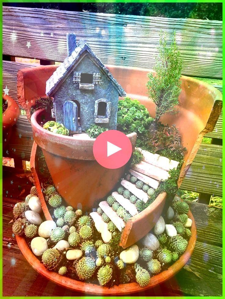aus kaputten Töpfen von Chapel Hill Miniature Gardens MiniGarten aus kaputten Töpfen von Chapel Hill Miniature Gardens  Are you still spending lot of money to b...