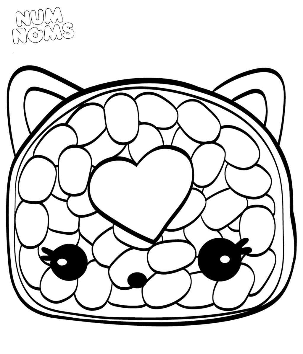 Num Noms Coloring Pages Cali Roll Cute Coloring Pages Coloring Pages Cartoon Coloring Pages