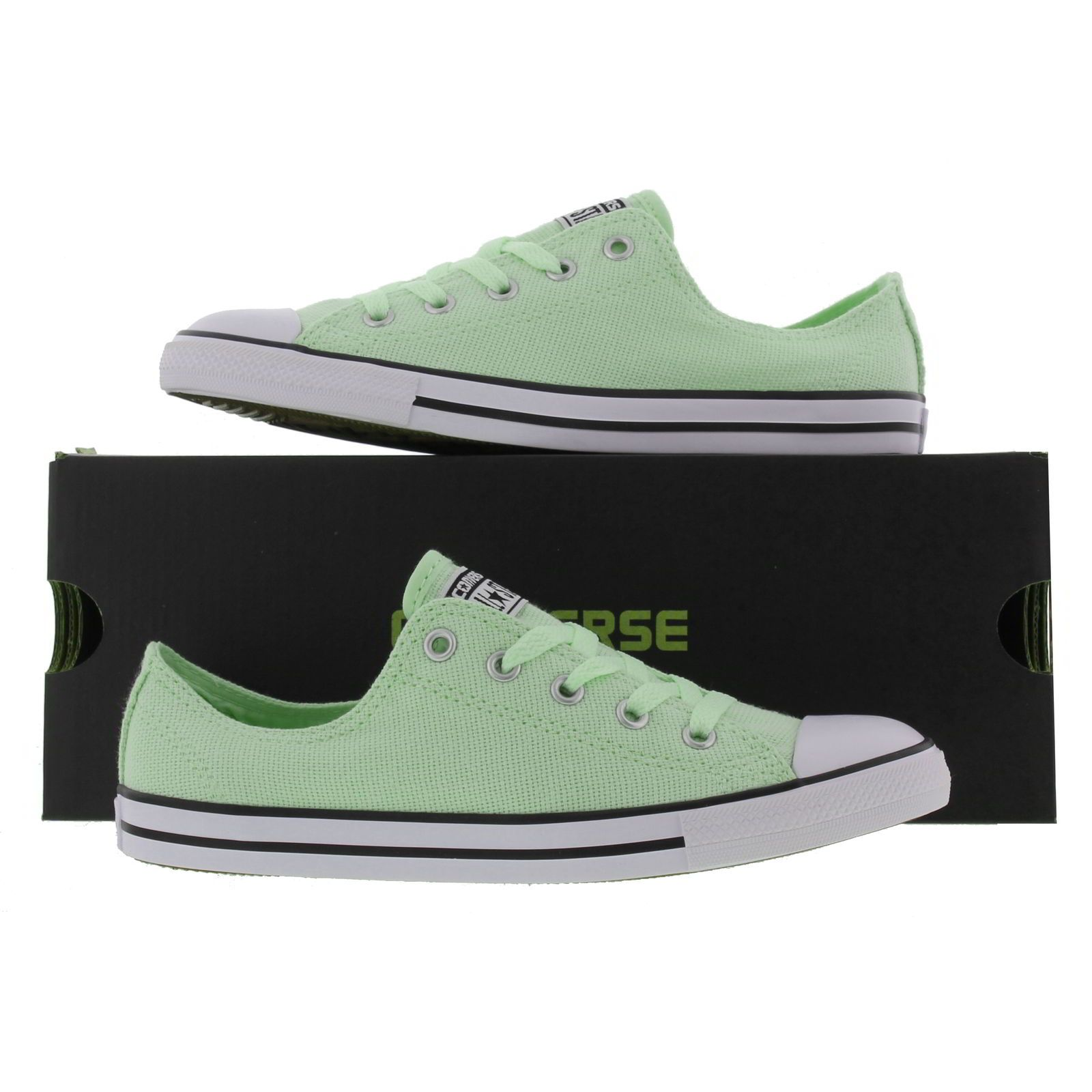 Converse Womens All Star Dainty Oxford Trainers - Pistachio Green