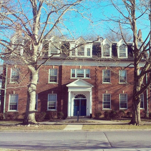Memorial Hall On Moravian College S Main Street Campus In Bethlehem Pa Moravian College House Styles