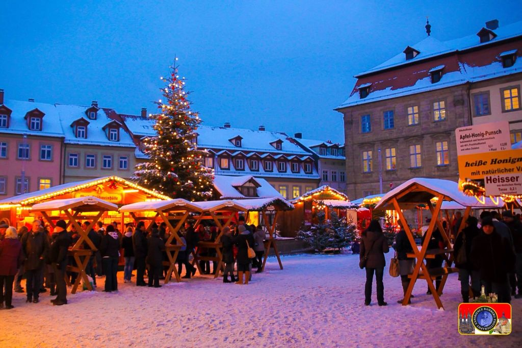 Bamberg Weihnachtsmarkt Germany, Vacation places