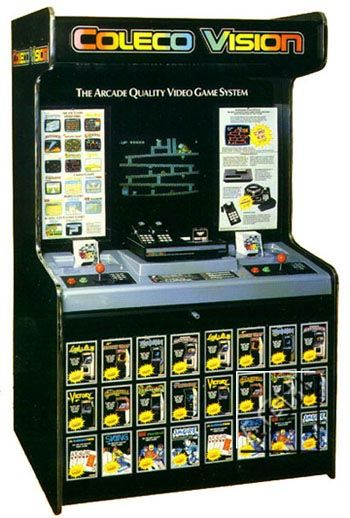 classic store kiosk: Colecovision
