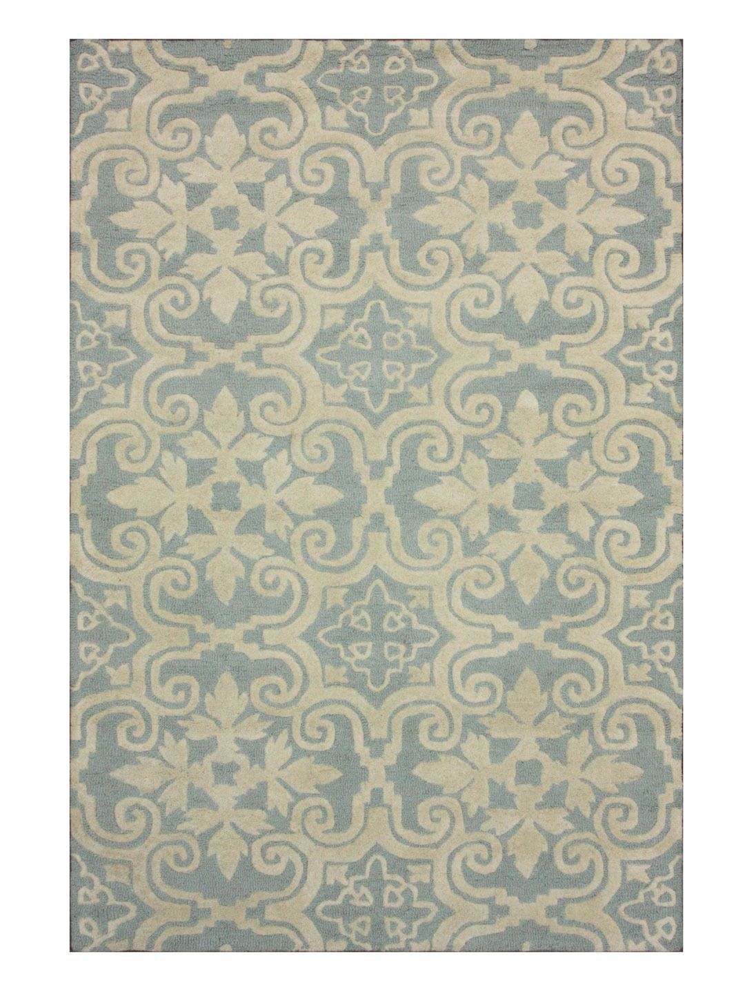 Khloe Hand Tufted Rug Gilt Home Light Blue Wool Rug Rugs Blue Wool Rugs