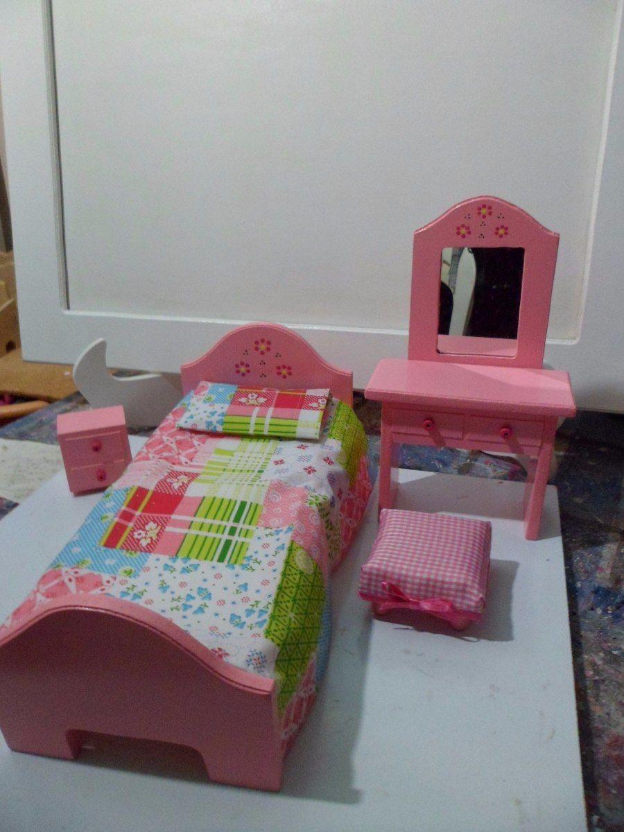 07379afd586e Muebles Para Casas De Muñecas. Elaborados En Mdf - Maracaibo - en Mercado  Libre