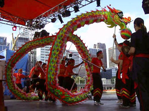 Dragon Dance Dragon Dance Chinese New Year Melbourne History Of Dance