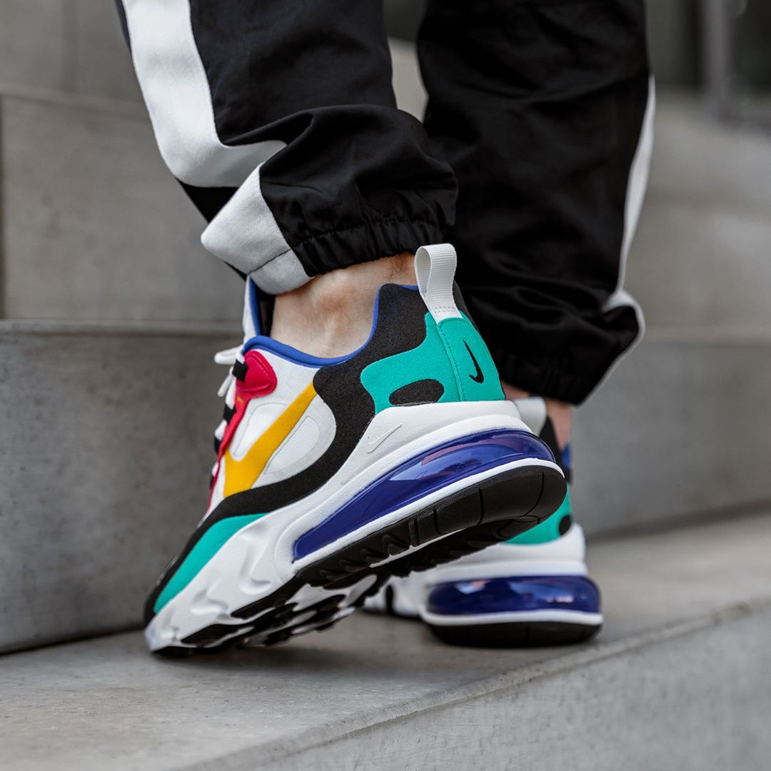 Nike Air Max 270 React in bunt AO4971 002 in 2020 | Nike