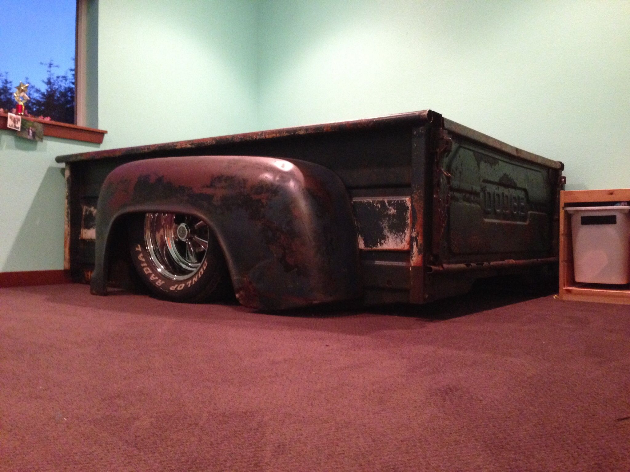 Dodge Truck bed bed | For the Home | Truck bedroom, Car ...