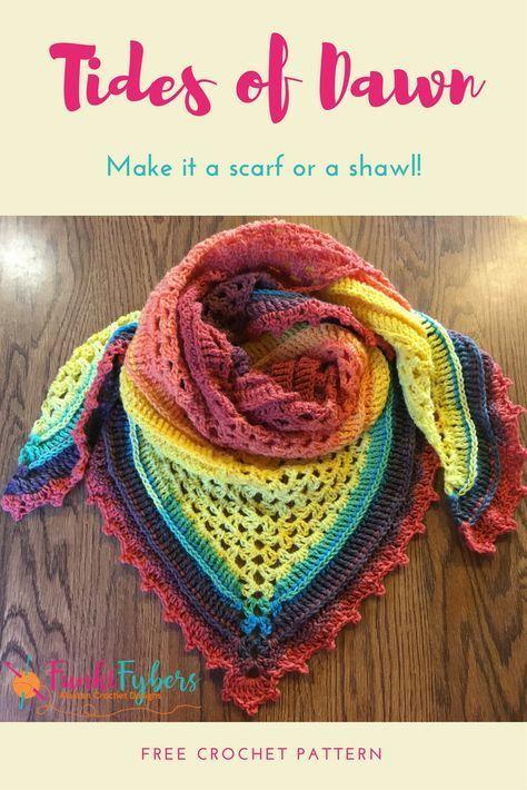 This Free Crochet Pattern Makes Great Use Of Lion Brand Mandala Yarn