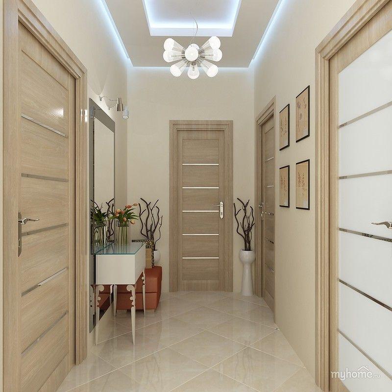 дизайн маленького коридора в квартире 5