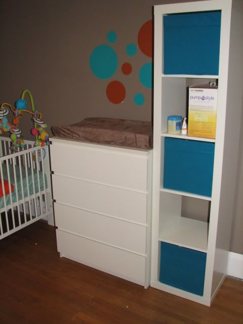Malm As Changing Table Kids Room Baby Girl Room Decor