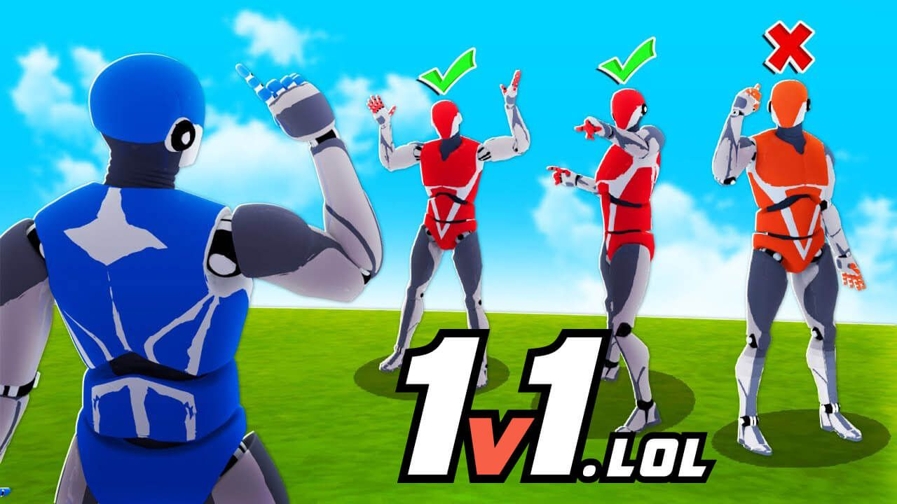 1v1 Lol Unblocked At The School Funny Games Lol Create Your Character