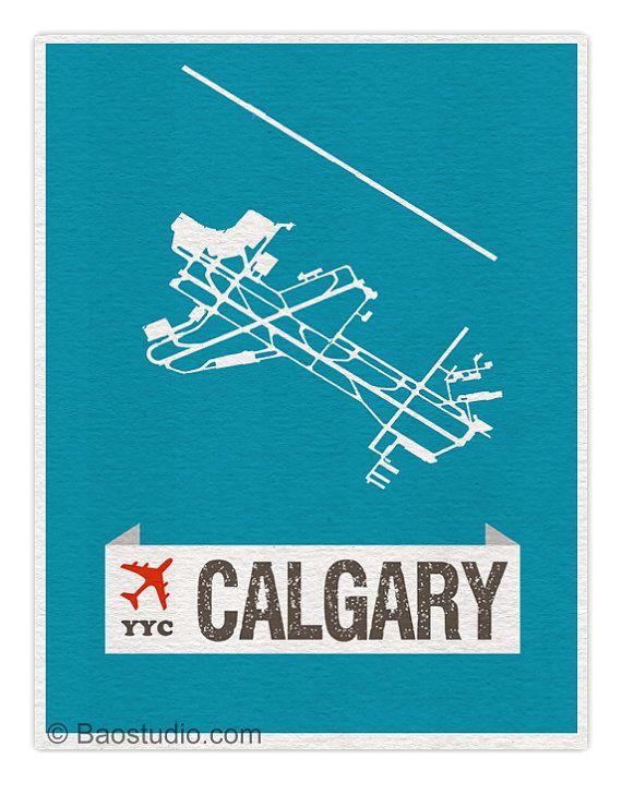 fly me to calgary yyc world traveler series alberta canada international airport code runway map