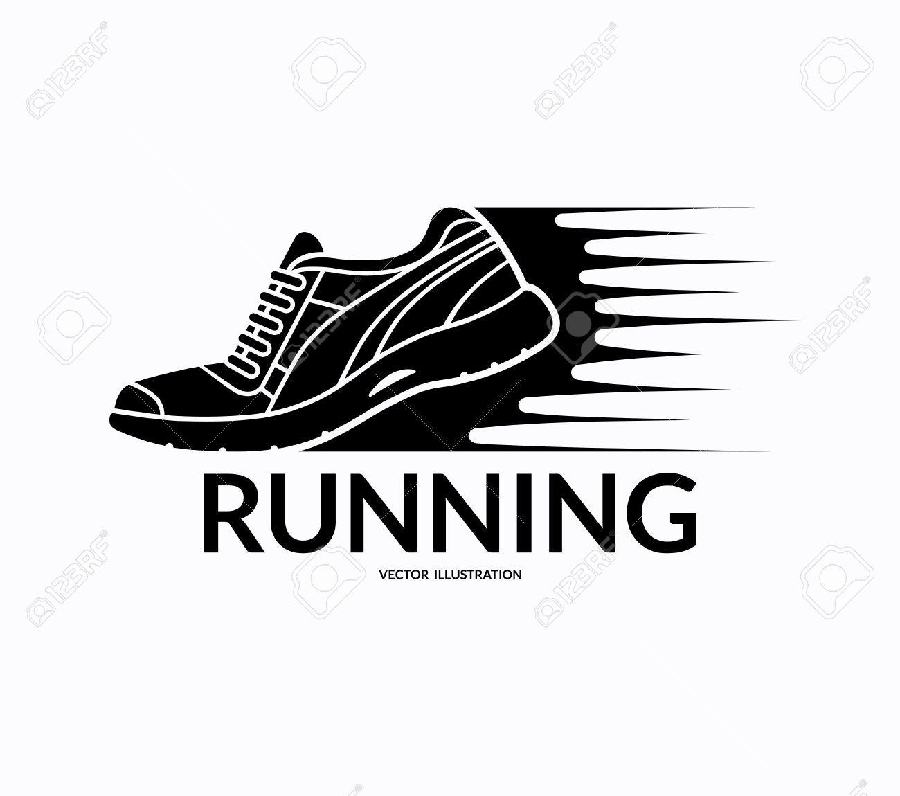 Running Shoe Icon Sports Shoe Symbol Training Shoe Logo Shoe Symbols Running Symbol Running Vector