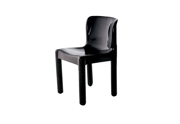Outdoor chair by kartell this chair features a single body