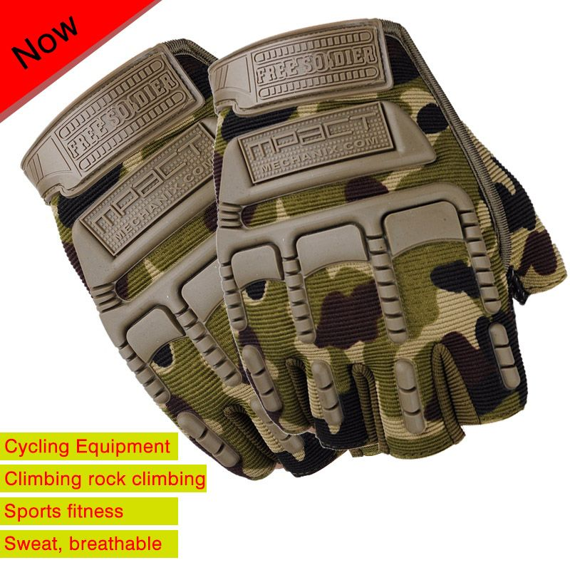 New Long/half  Finger Cycling Glove Breathable non-slip Gel Touch Screen Mountain Bike Bicycle Gloves for Man Woman Gloves