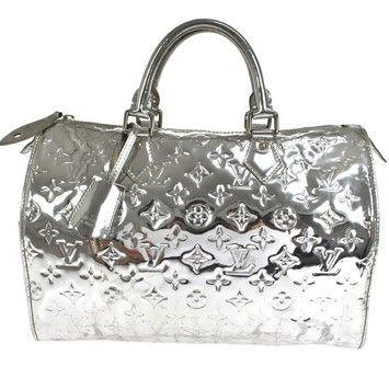 fd0246788b88 Louis Vuitton Miroir Speedy 30 Hand Monogram Mirror Silver Tote Bag. Get  one of the hottest styles of the season! The Louis Vuitton Miroir Speedy 30  Hand ...