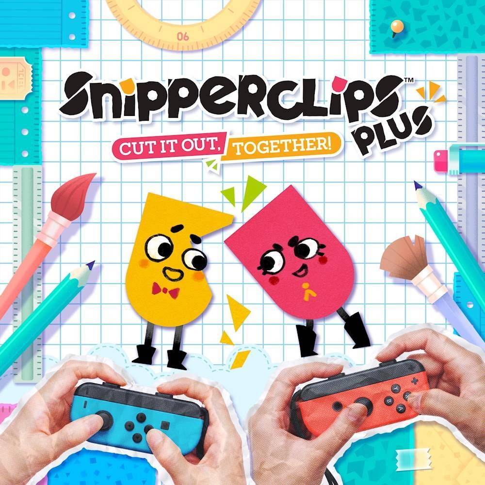 Snipperclips Plus Cut It Out Together Nintendo Switch Digital