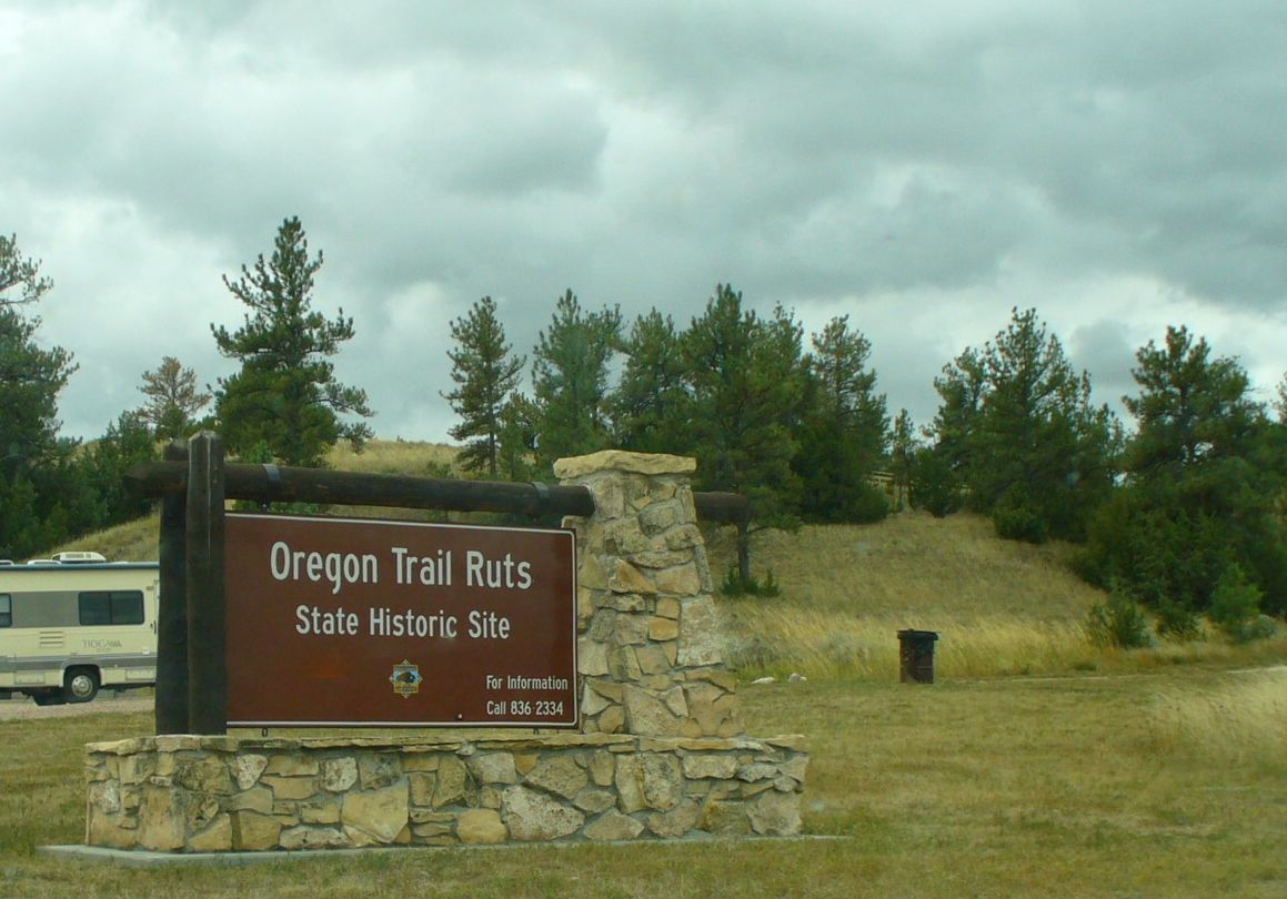 The Oregon Trail Ruts State Historic Site At Guernsey Wyoming Photo By Anita Mae Draper September 21st 2 Oregon Trail Oregon Trail History California Trail
