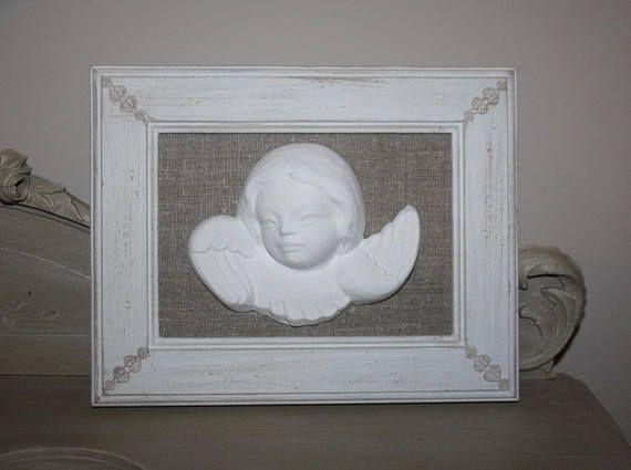 Cadre romantique et sa tête d'ange