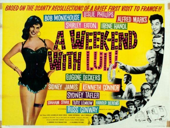 A WEEKEND WITH LULU 1961 | Bob monkhouse, Shirley eaton, Leslie ...