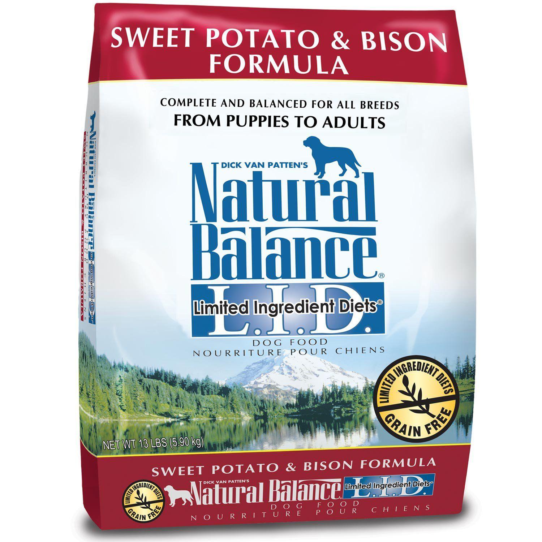 Natural Balance L.I.D. Limited Ingredient Diets Sweet