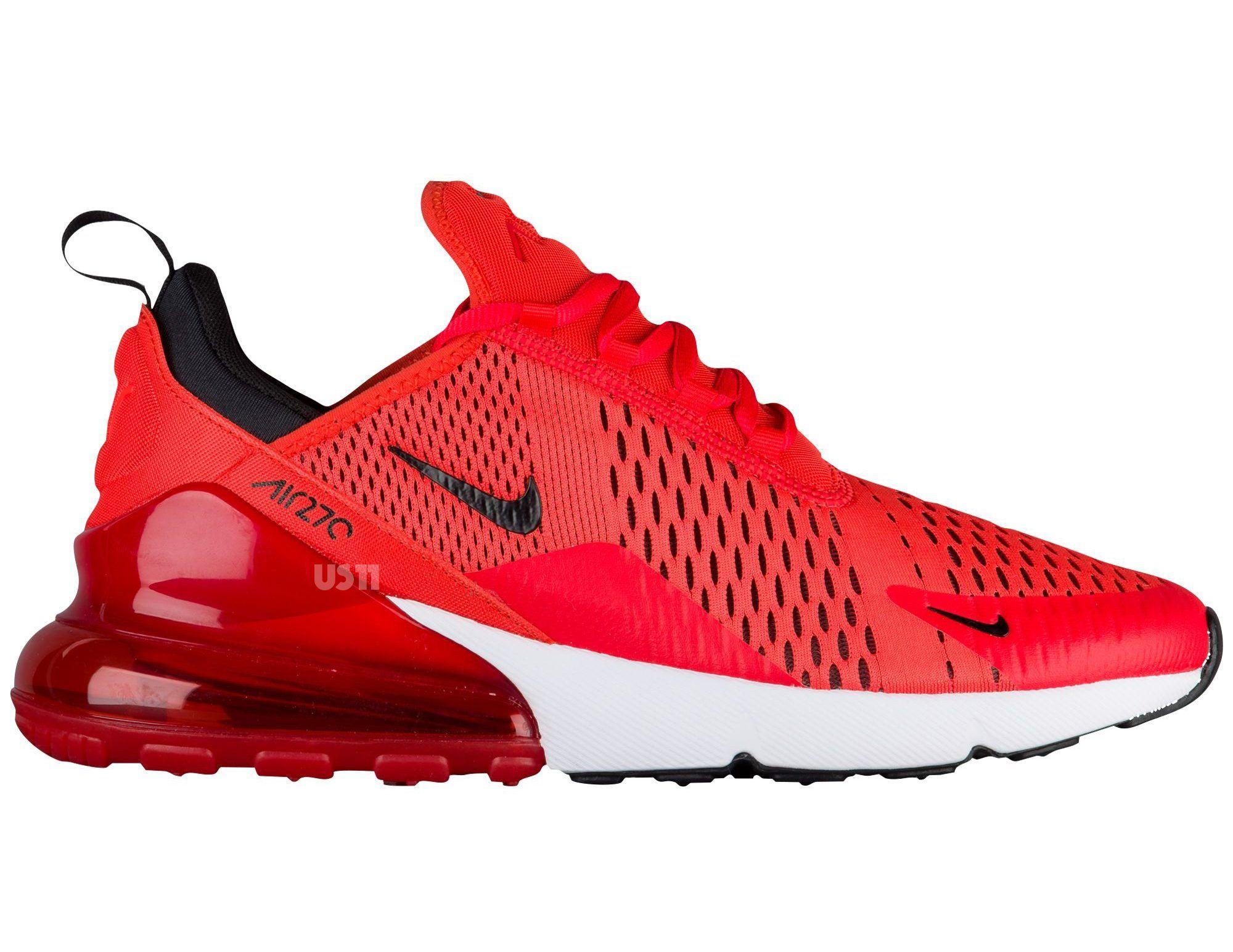 Nike Air 270 Red 1 Red Nike Shoes Nike Air Max Black Nike Shoes