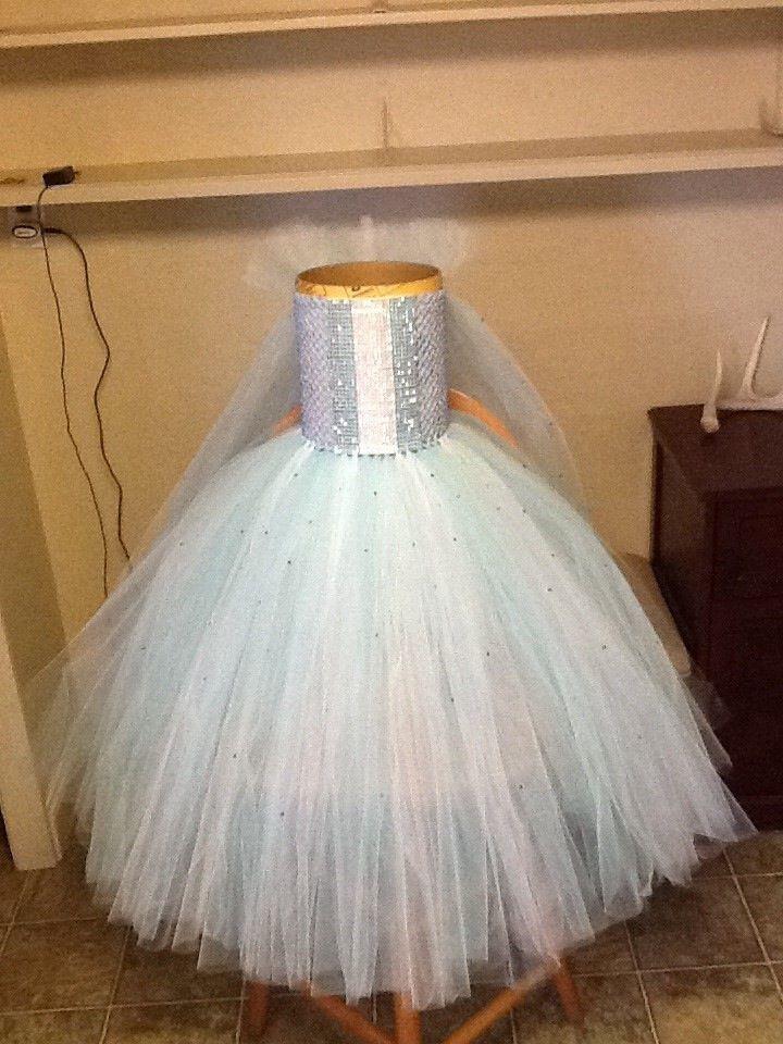A Queen Elsa Tutu $30!!