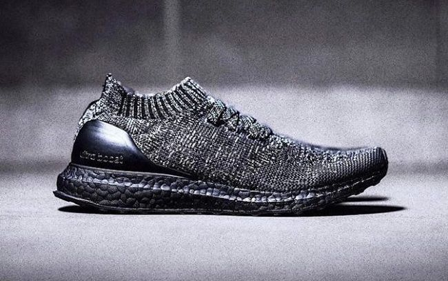 b80d4535 adidas Ultra Boost Uncaged Black Wool. The adidas Ultra Boost Uncaged Black  Wool features Black Wool uppers and Black Boost midsole.