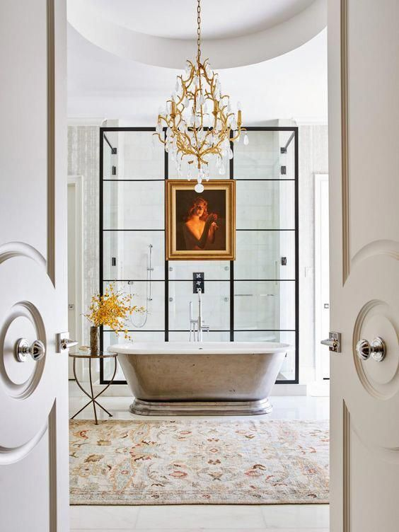 Photo of Coming home to a luxurious bathroom can take most of your stress away. Whether y …