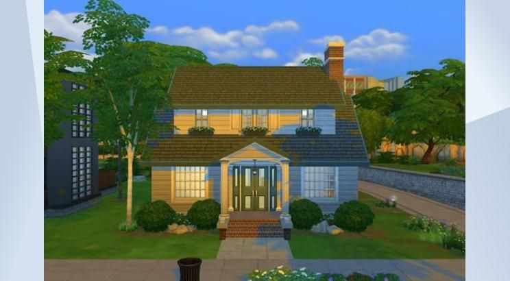 Check out this lot in The Sims 4 Gallery! - This cozy cottage starter is sure to provide your starter sim family with the room they need to grow and flourish! It is left up for you to decide how you would like to decorate this adorable home. Includes built in deck for some outdoor fun.
