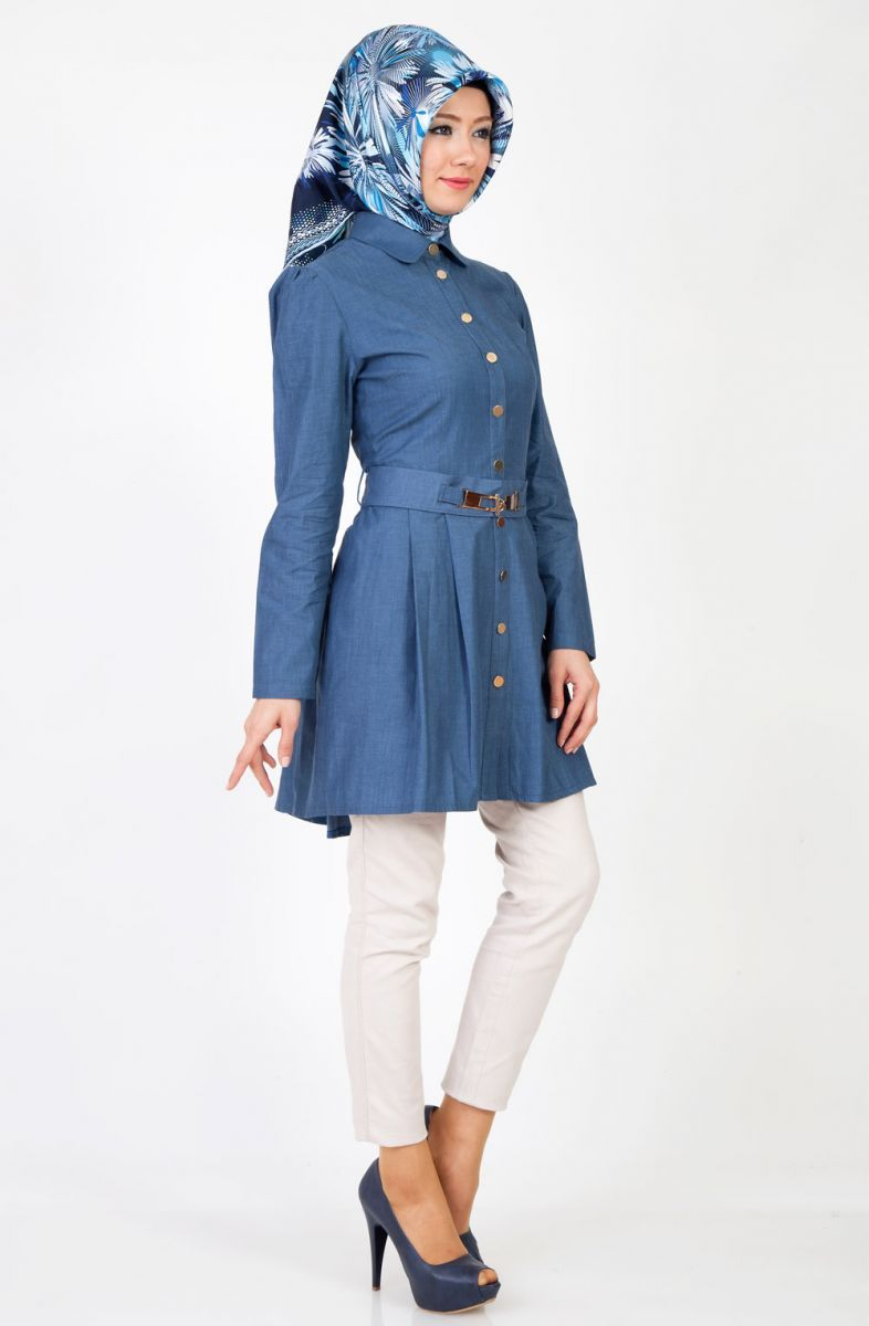 Tozlu Giyim Tesettur Jean Kombinleri Moda Giyim Moda Stilleri