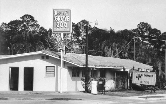 Houser S Grove Zoo West Melbourne Fl Melbourne Florida Brevard County Florida Old Florida