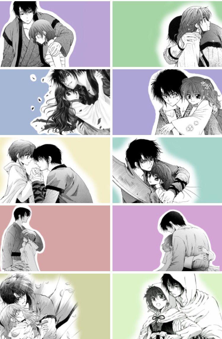 Akatsuki no Yona / Yona of the dawn anime and manga    Hak X Yona <3